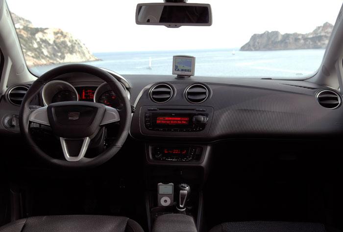 Seat Ibiza 1.2-TSI DSG. Salpicadero