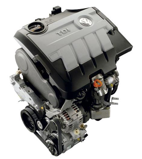 Volkswagen Passat 2.0-Tdi 140 CV BMT. Motor