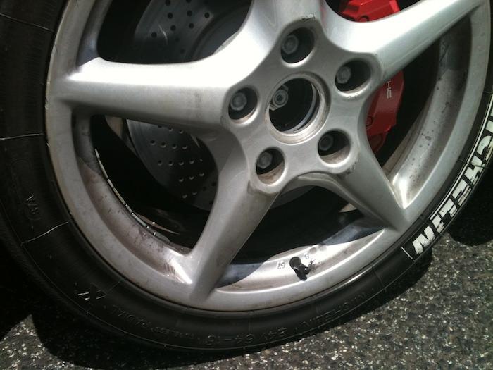 Neumáticos Michelin Slick de Competición.