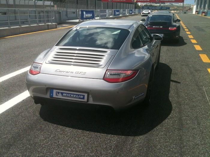 Porsche 911 GTS. Neumáticos Michelin. Altas prestaciones.