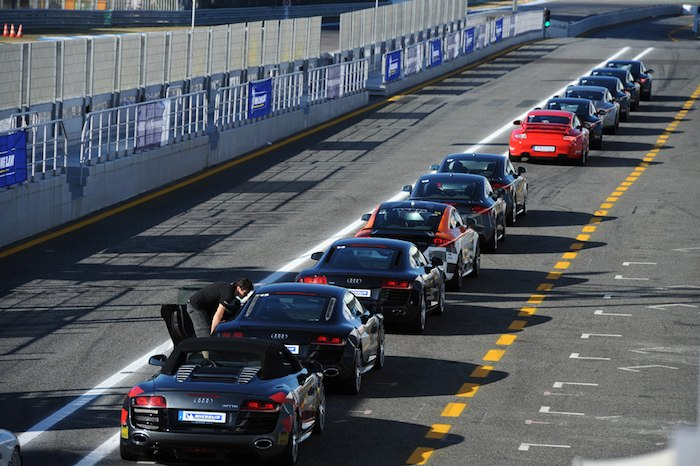 Circuito de Estoril. Jornadas Michelin Pilot Sport. Coches: Audi - Porsche
