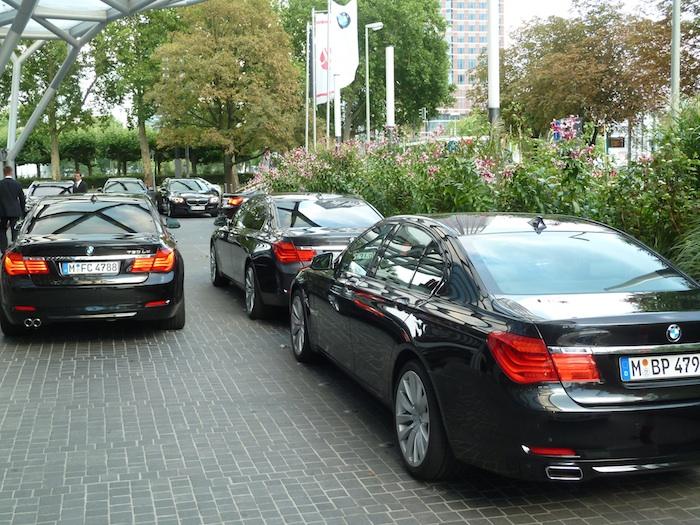 Flota BMW Serie 7