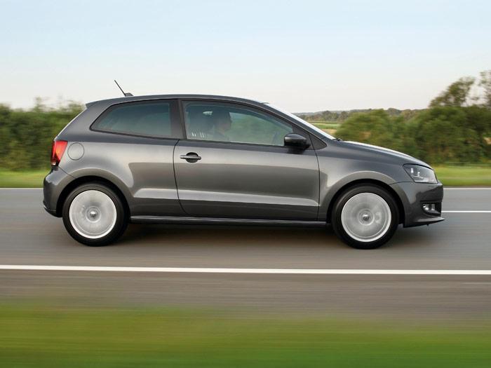 Prueba de consumo (66): Volkswagen Polo 1.2-TSI 105 CV. Lateral.
