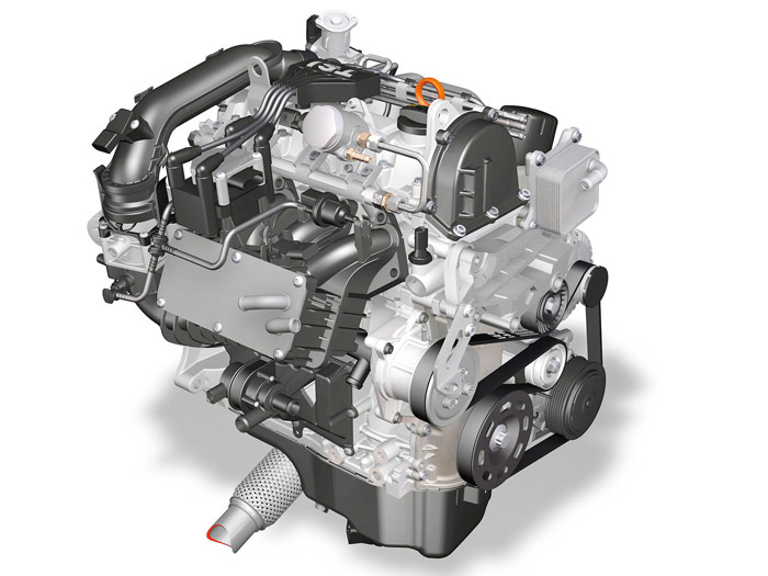 Prueba de consumo (66): Volkswagen Polo 1.2-TSI 105 CV. Motor.