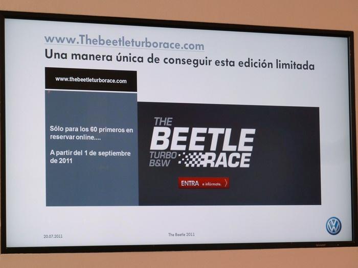 Beetle Turbo Black & White. Edición limitada