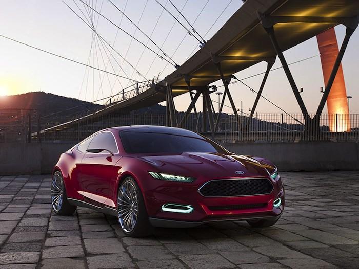 Ford EVOS Concept. La nueva línea de diseño de Ford