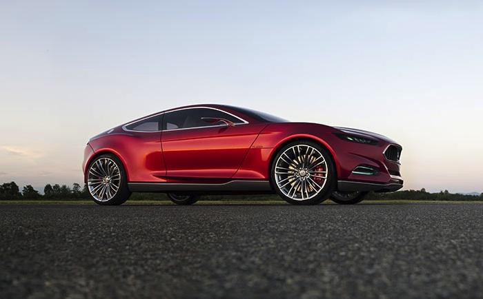 Ford EVOS Concept Kinetic Design Evolution