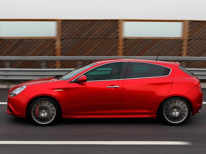 Alfa-Romeo Giulietta 1.4-TB MultiAir. Prueba. Información. Lateral