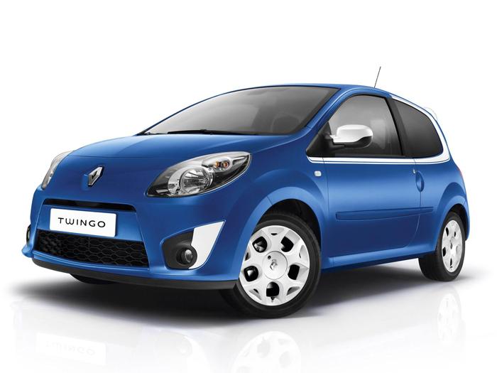 Prueba de consumo (68): Renault Twingo Yahoo 1.2 16v. Exterior - delantera.