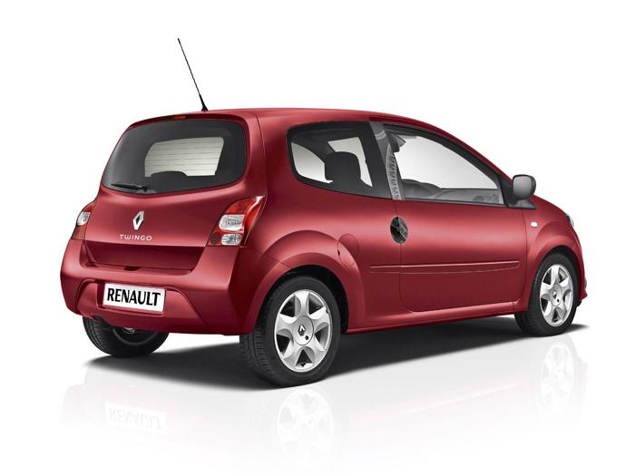 Prueba de consumo (68): Renault Twingo Yahoo 1.2 16v. Exterior - trasera