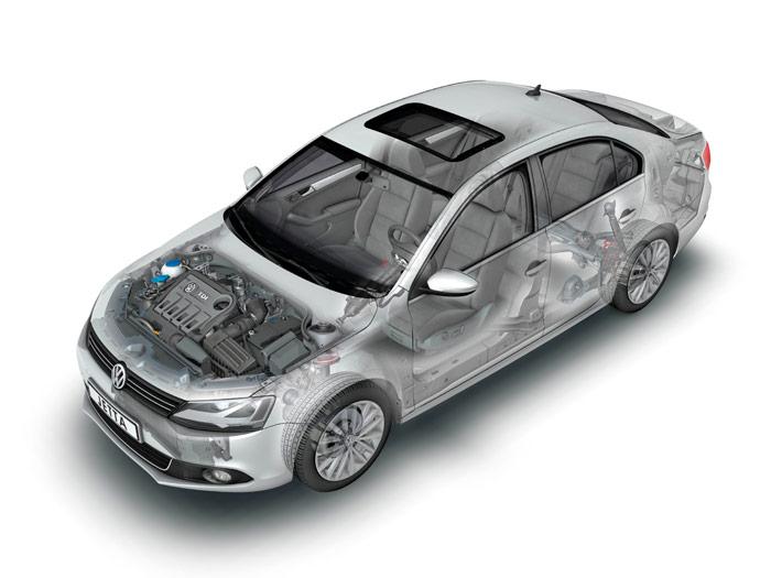 Prueba interesante (1): Volkswagen Jetta Sport 2.0 Tdi. Radiografía