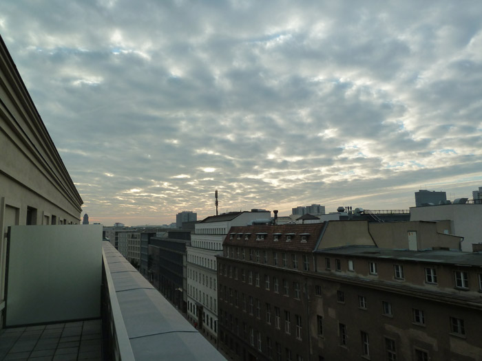 Hotel de Rome. Berlín. Habitación. Vistas desde la habitación