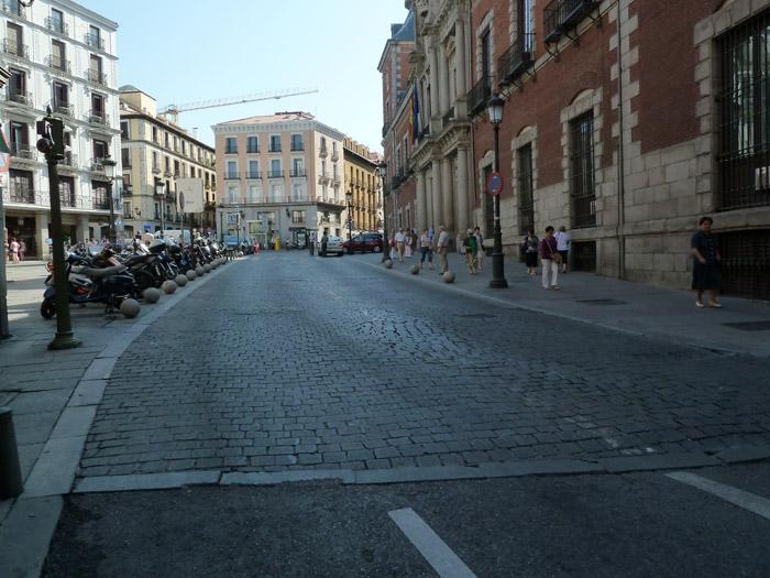 Adoquines. Madrid. Plaza de la Provincia