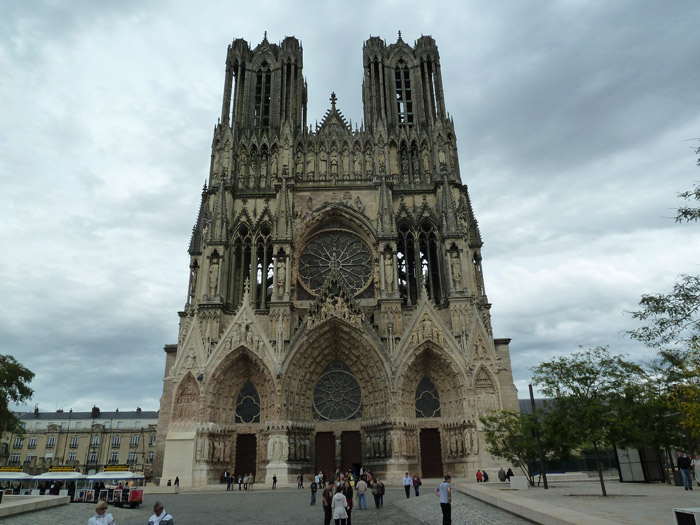 Catedral de Reims. Francia