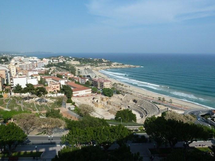 Hotel Imperial Tarraco. Tarragona. Vistas al mar