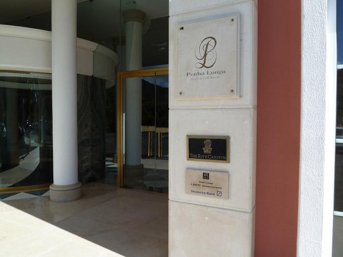 Hotel Penha Longa. Portugal. Entrada al hotel