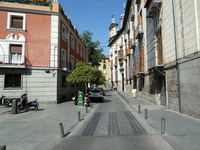 Adoquines. Madrid. Calle de San Justo