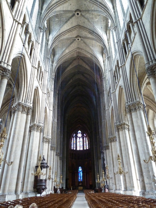 Catedral de Reims. Francia. Interior