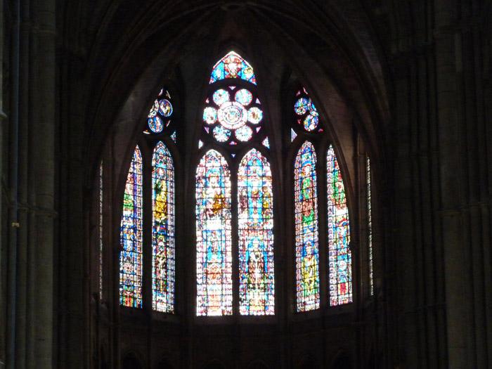 Catedral de Reims. París. Vidriera