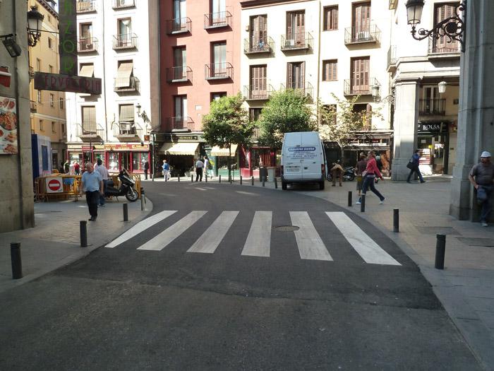 Adoquines. Madrid. Calle Imperial