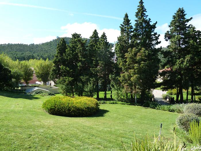 Hotel Penha Longa. Portugal. Zonas comunes. Jardines