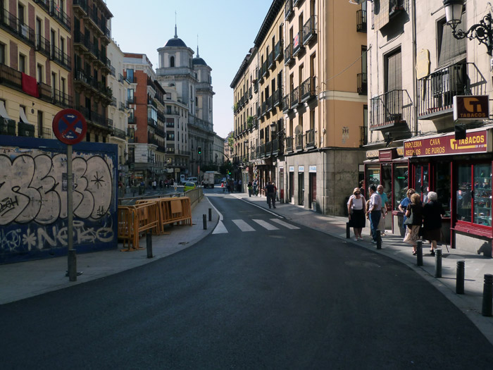 Adoquines. Madrid. Calle de Toledo