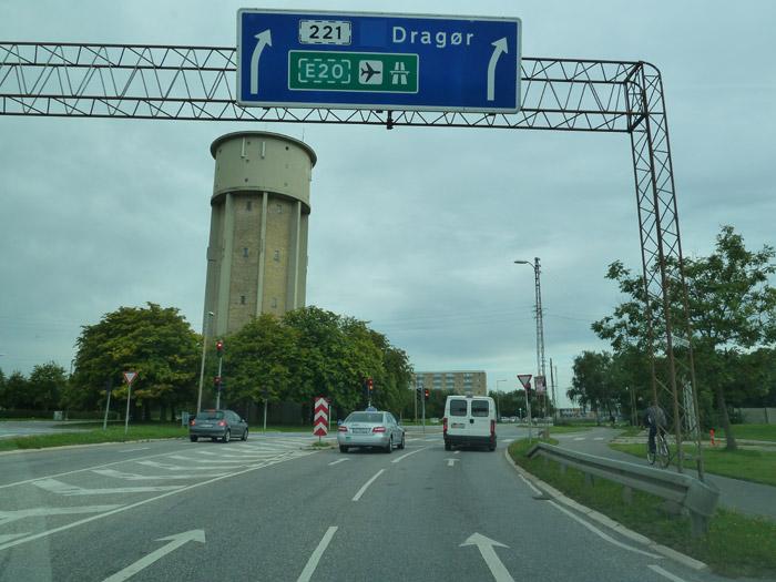 Copenhague. Autopista