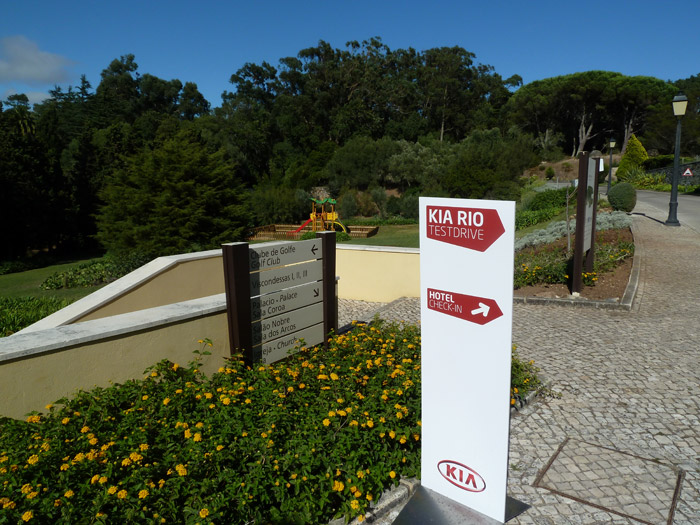 Hotel Penha Longa. Portugal. KIA Rio