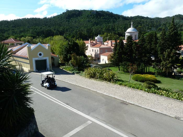 Hotel Penha Longa. Portugal. Coche de Golf