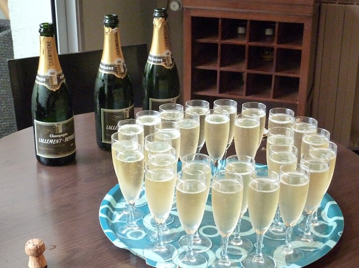 Champagne. Lallement-Deville