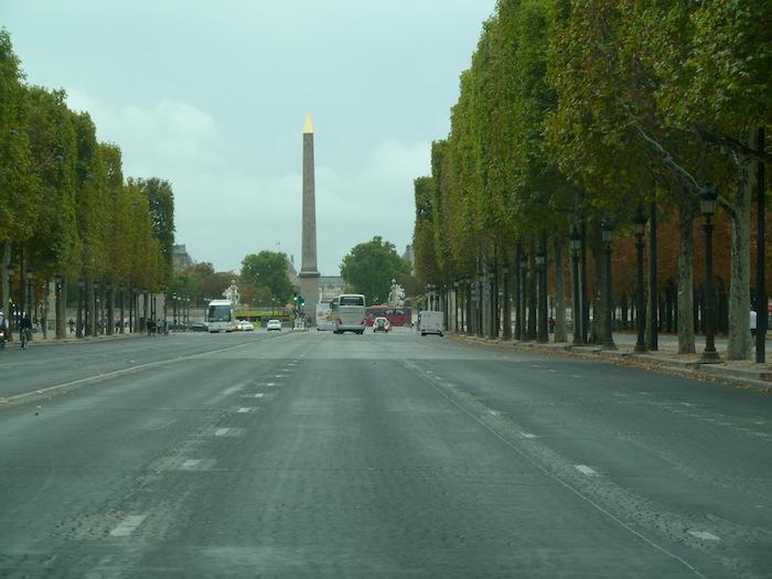 Paris. Plaza de la Concordia. Place de la Concorde