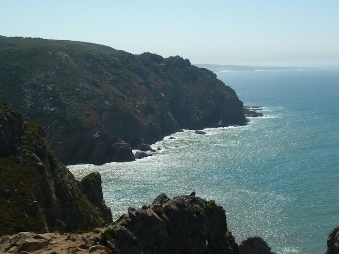 Cabo da Roca. Vista hacia el sur.