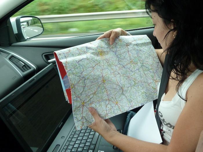 Mapa de carretera