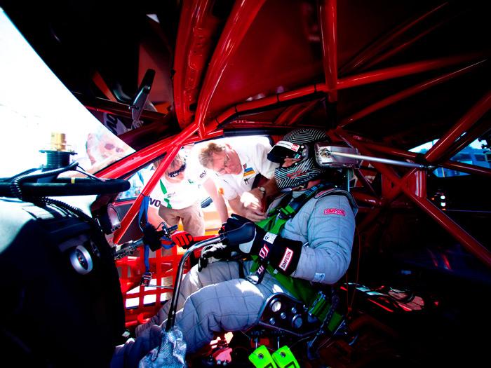 Prueba de consumo Skoda Fabia GreenLine y Octavia RS de récords. Richard Meaden al volante