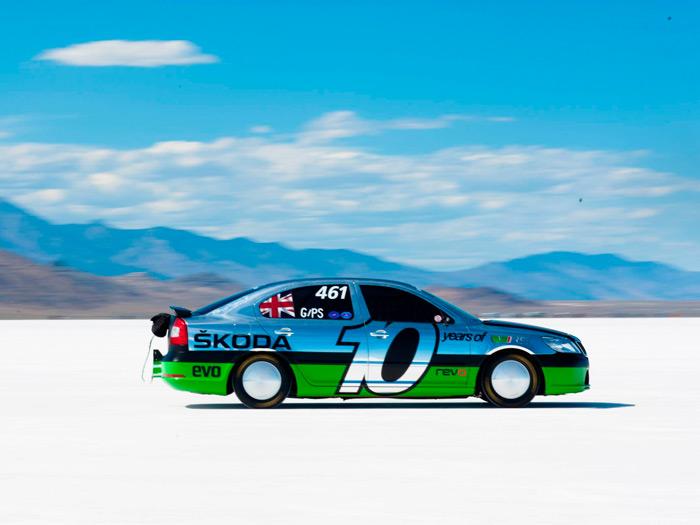 Octavia RS de récords