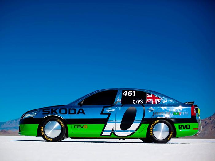 Prueba de consumo (71): Skoda Fabia GreenLine y Octavia RS de récords. Hielo