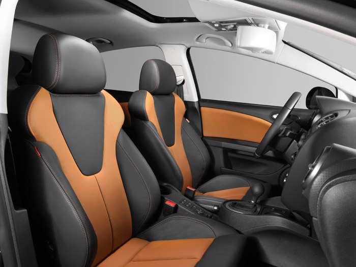 Prueba interesante. Seat León FR 2.0-TSI DSG. Interior. Asientos