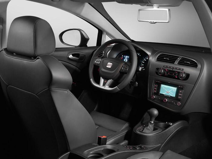 Prueba interesante. Seat León FR 2.0-TSI DSG. Salpicadero