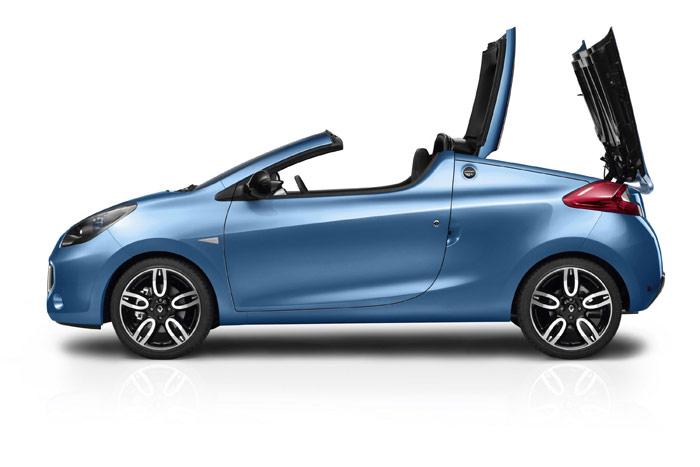 Renault Wind 1.6 16v. Techo duro plegable