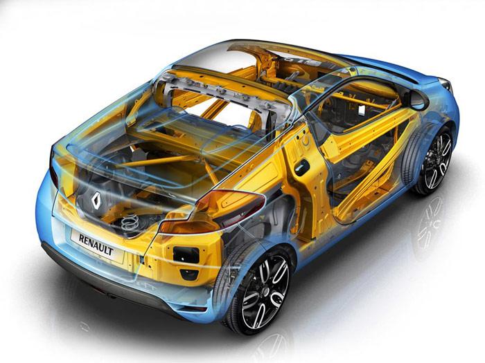Renault Wind 1.6 16v. Chasis.