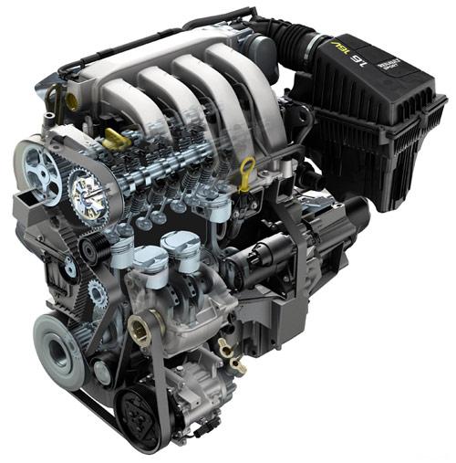 Renault Wind 1.6 16v. Motor