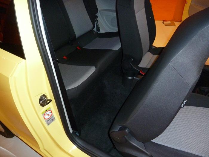 Seat Mii 3 puertas. Acceso a las plazas posteriores.