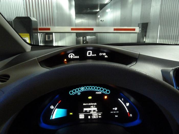 Nissan Leaf. Modo ECO.