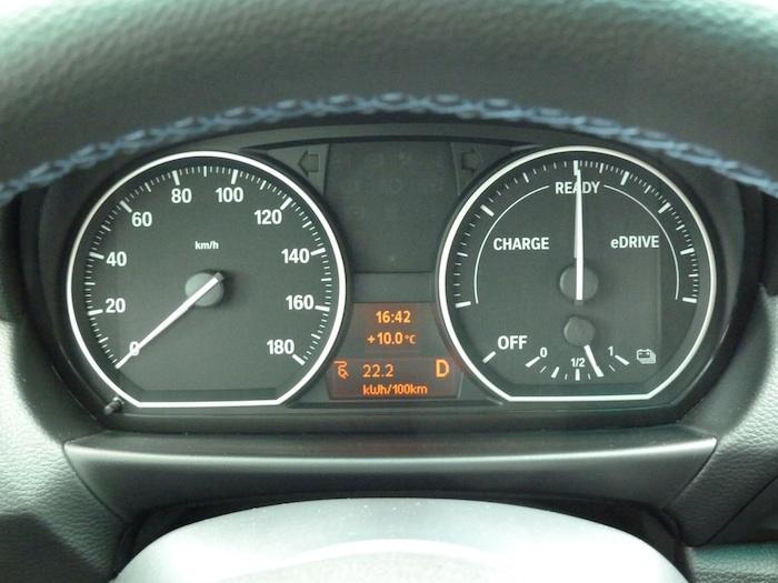 BMW Active E Consumo