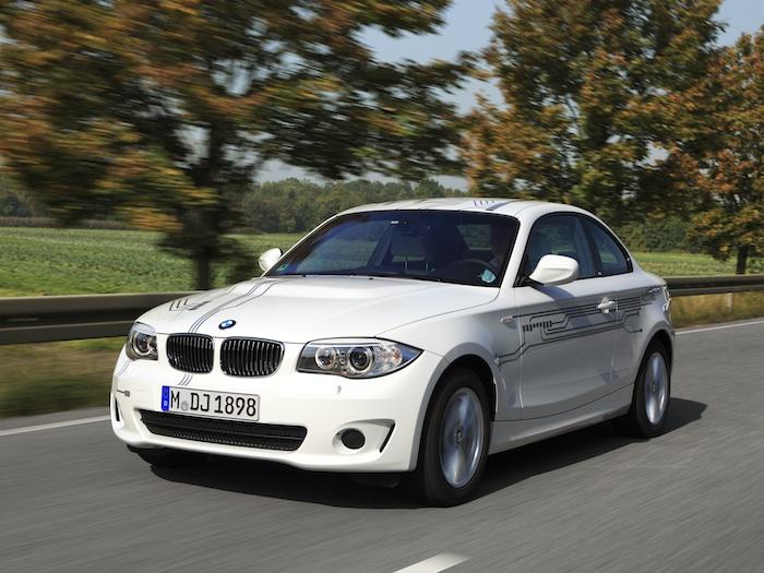 BMW Active E. En la carretera