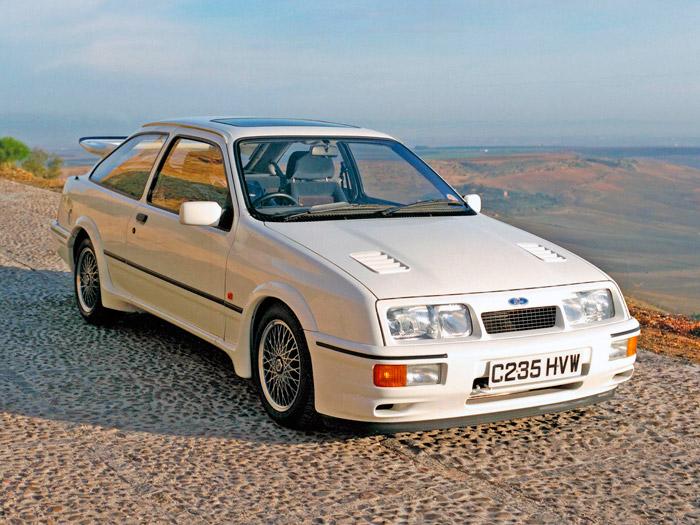 Recordando a los ancestros. Ford Sierra Cosworth