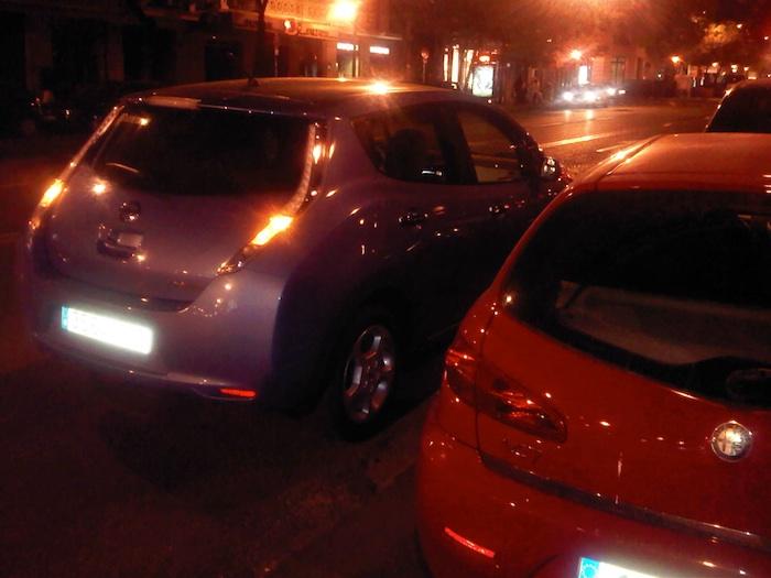 Punto de recarga en la calle Goya 46. Madrid