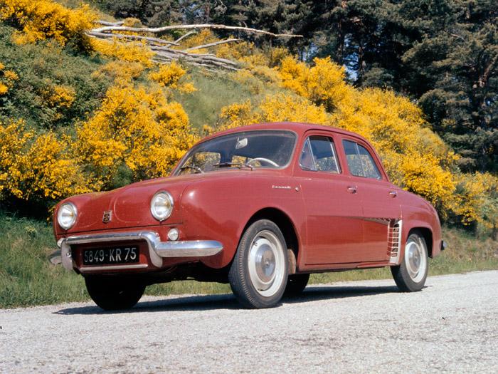 Recordando a los ancestros. Renault Dauphine