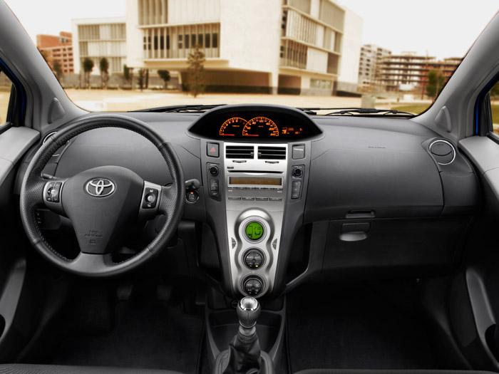 Toyota Yaris. Prueba de consumo. Interior
