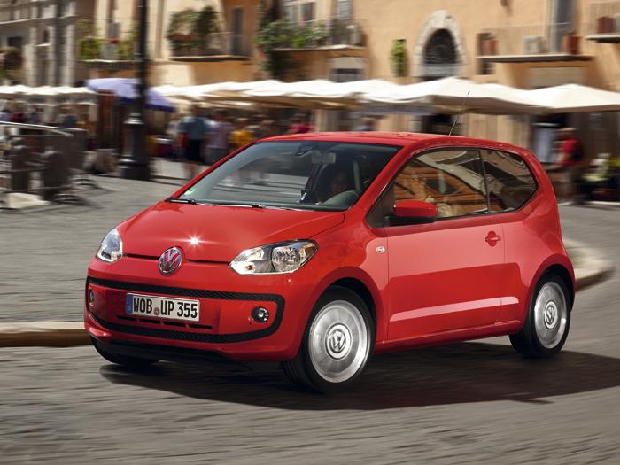 Volkswagen up! Desde 9720 € o 115 € al mes